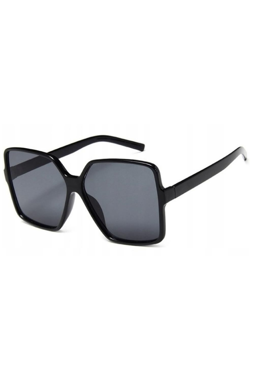 Czarne duże okulary przeciwsłoneczne kwadraty Emily 3