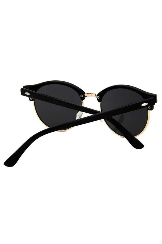 Czarne okulary przeciwsłoneczne clubmaster Helena 5