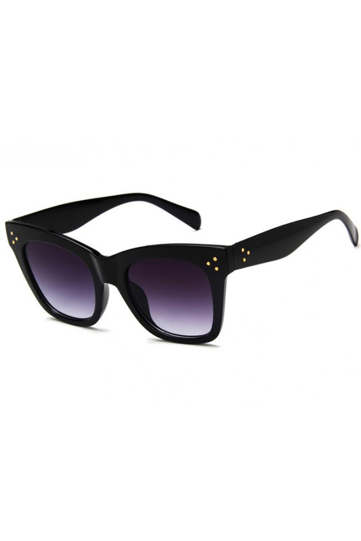 Czarne okulary przeciwsłoneczne kocie oko Wild 5