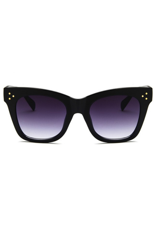 Czarne okulary przeciwsłoneczne kocie oko Wild 1