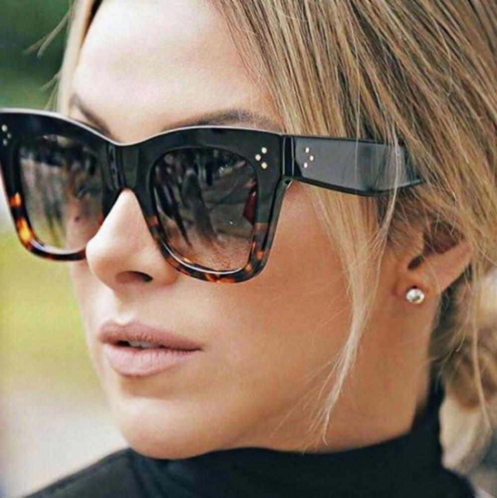 Panterkowe okulary przeciwsłoneczne kocie oko Wild 2