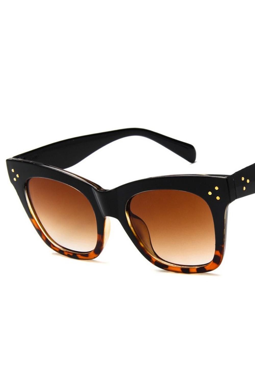 Panterkowe okulary przeciwsłoneczne kocie oko Wild 3