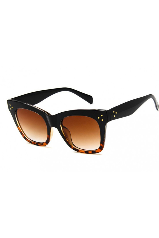 Panterkowe okulary przeciwsłoneczne kocie oko Wild 4
