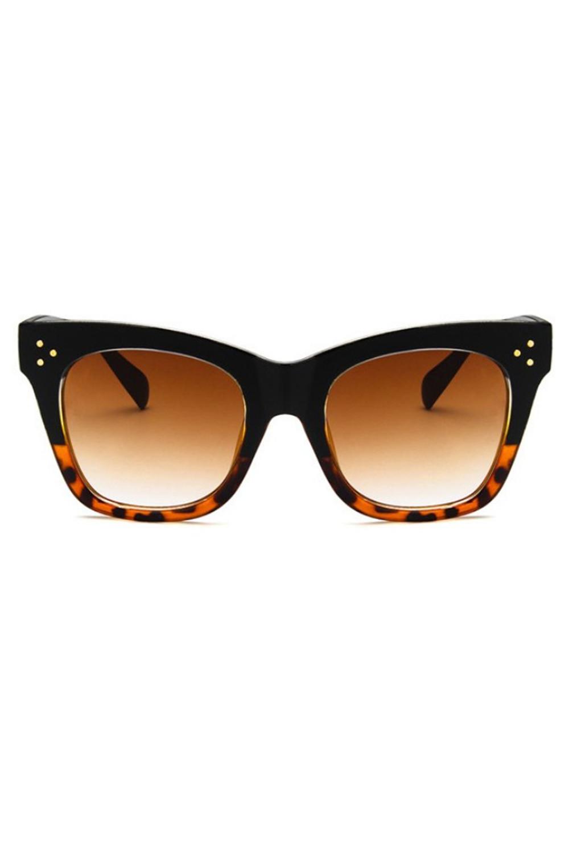 Panterkowe okulary przeciwsłoneczne kocie oko Wild 1