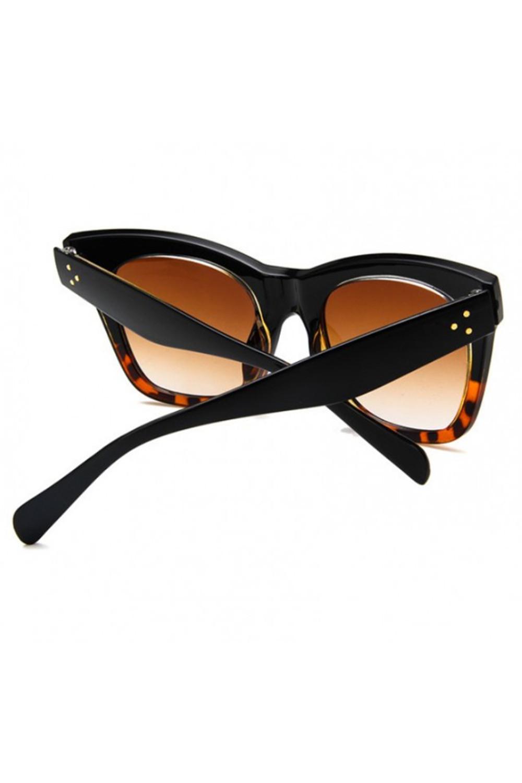 Panterkowe okulary przeciwsłoneczne kocie oko Wild 5