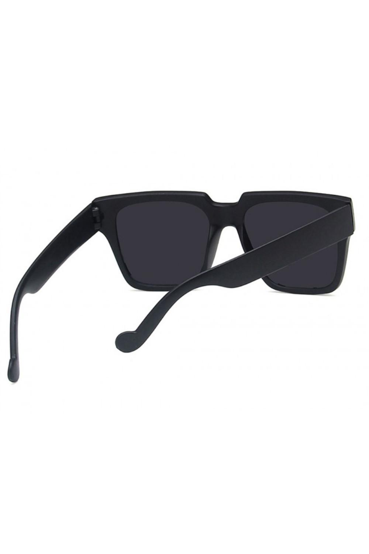 Czarne duże okulary przeciwsłoneczne ombre z matową oprawką Sally 5