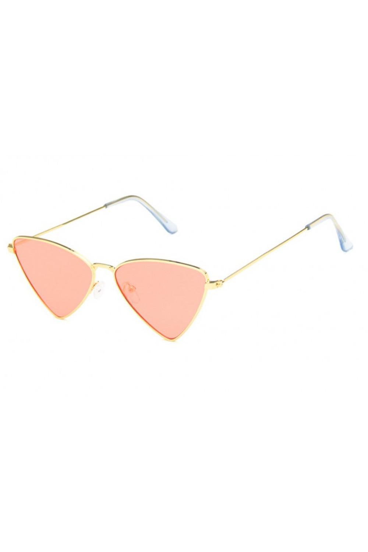 Pomarańczowe okulary przeciwsłoneczne romb Hailey 4