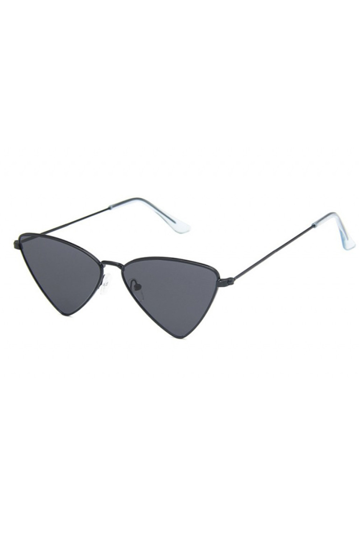 Czarne okulary przeciwsłoneczne romb Hailey 3