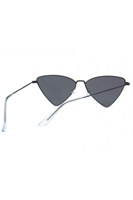 Czarne okulary przeciwsłoneczne romb Hailey 4