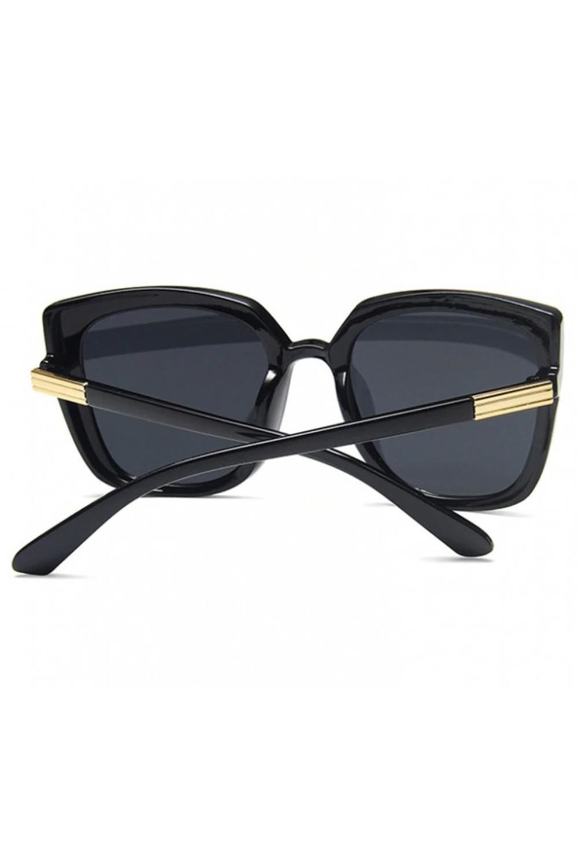 Czarne duże okulary przeciwsłoneczne osy Ivy 4