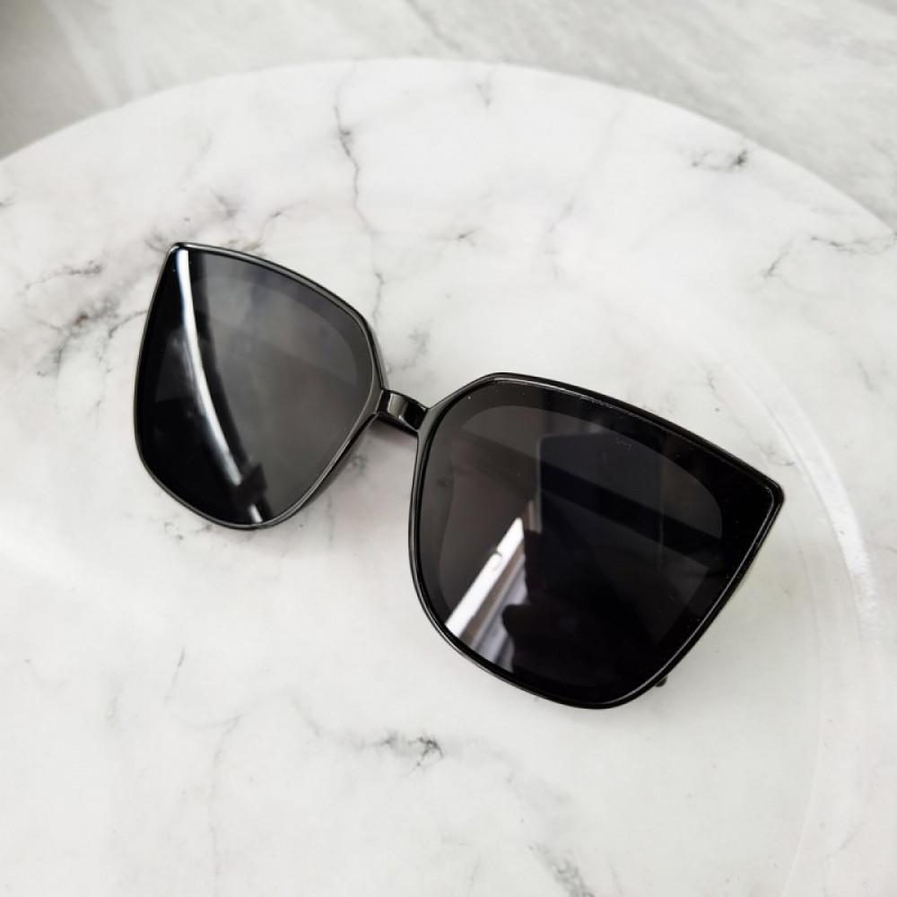 Czarne duże okulary przeciwsłoneczne osy Ivy 3