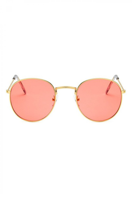 Łososiowe okulary przeciwsłoneczne okrągłe Summer 1