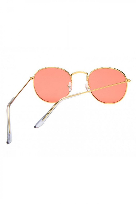 Łososiowe okulary przeciwsłoneczne okrągłe Summer 3