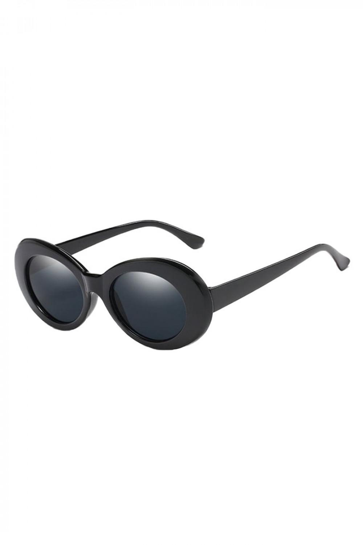 Czarne okulary przeciwsłoneczne owalne Jessy 2