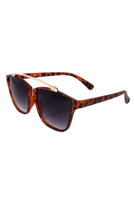 Czarne panterkowe okulary przeciwsłoneczne kocie oko Cherry 2