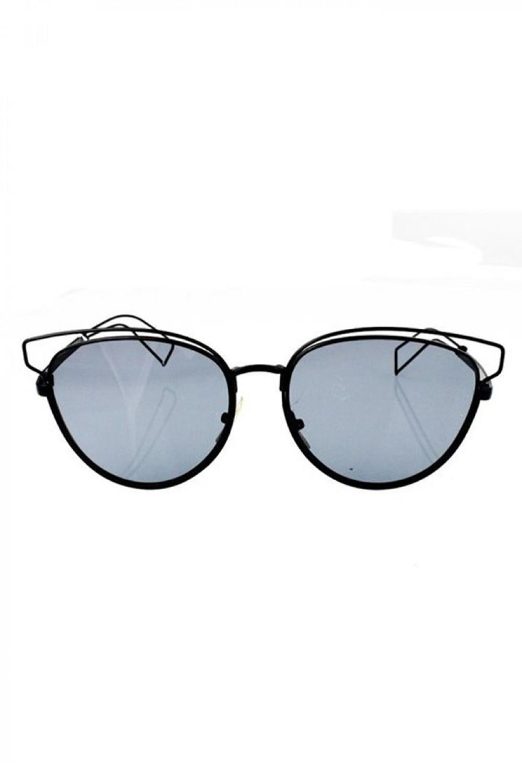 Czarne okulary przeciwsłoneczne motylki Dafne 1