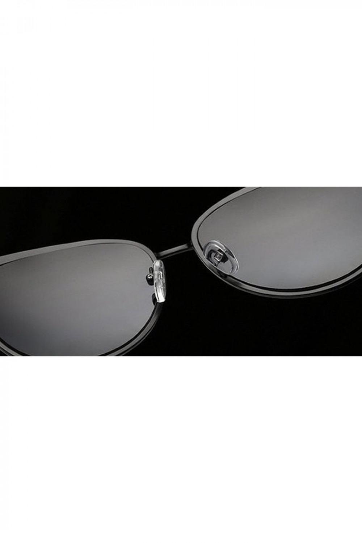 Różowe lustrzane okulary przeciwsłoneczne motylki Navia 4