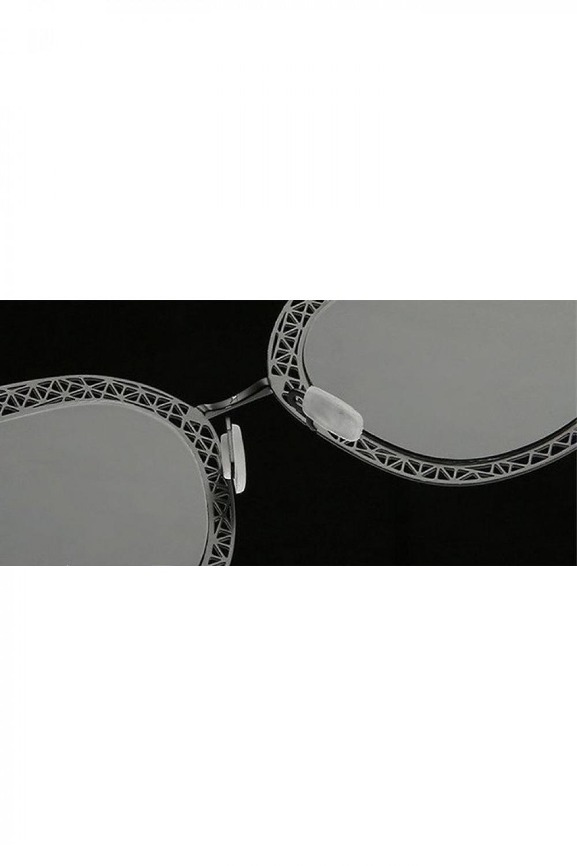 Zielono-złote okulary przeciwsłoneczne kocie oko Sirena 5