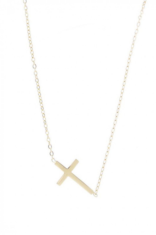 Naszyjnik celebrytka z krzyżem Paule 1