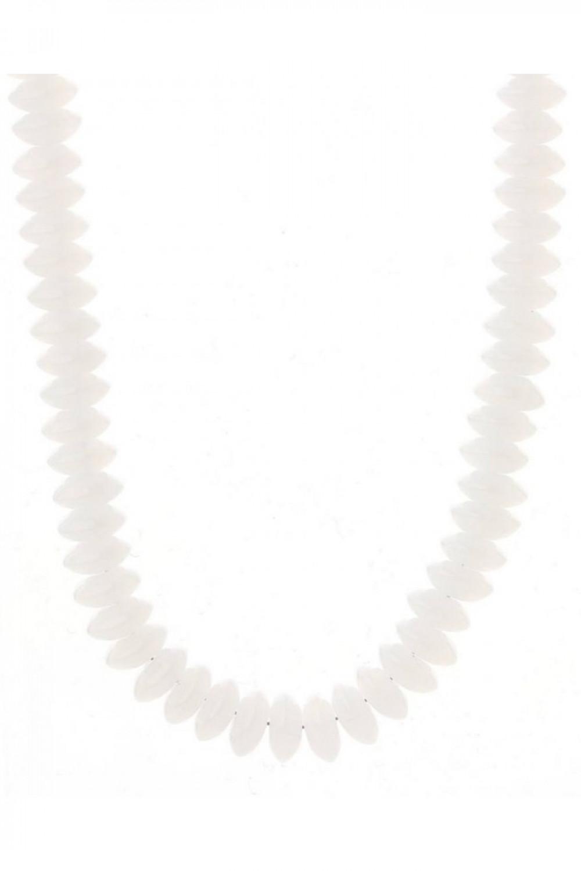 Naszyjnik celebrytka z perełkami Gianna 2