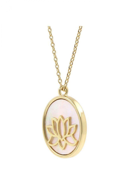 Naszyjnik celebrytka kwiat lotosu Orsola 3