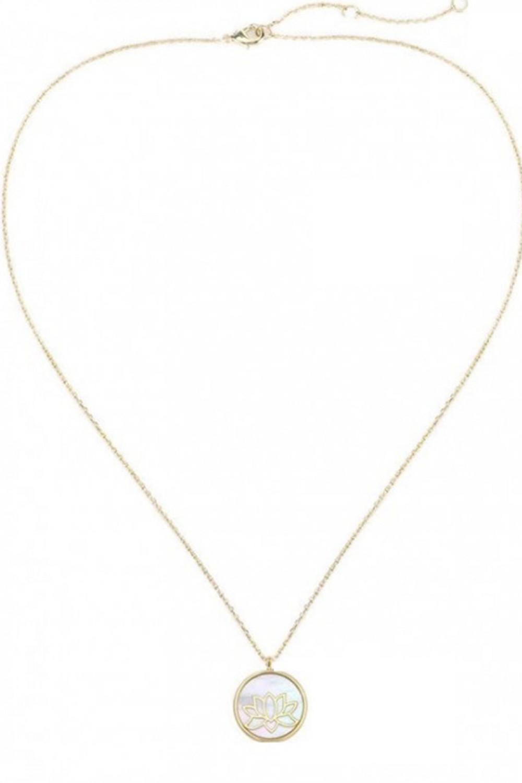 Naszyjnik celebrytka kwiat lotosu Orsola 2