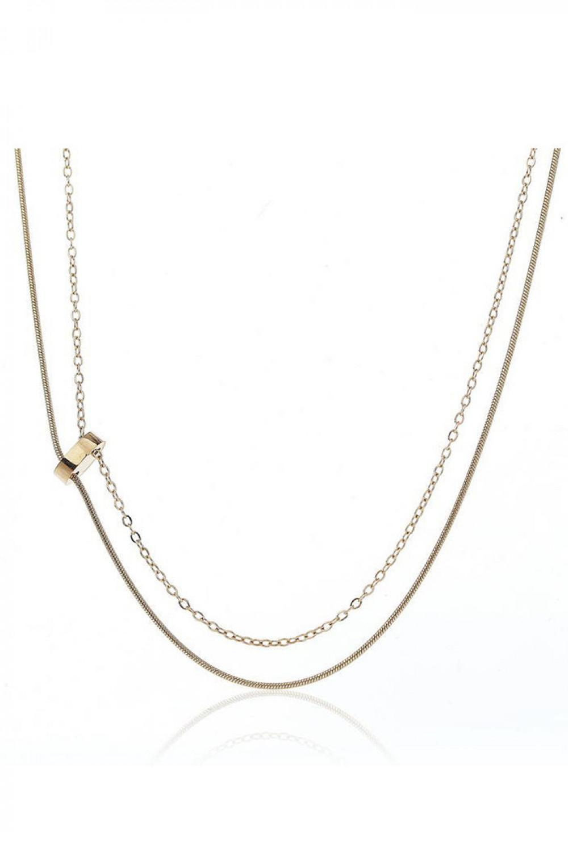 Naszyjnik celebrytka kaskadowy łańcuch Dalila 1