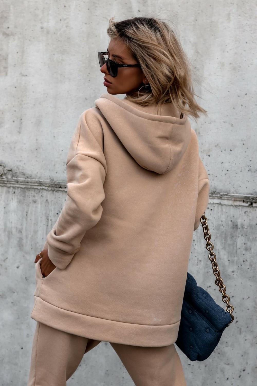 Beżowy komplet dresowy bluzka i spodnie Arianna 5