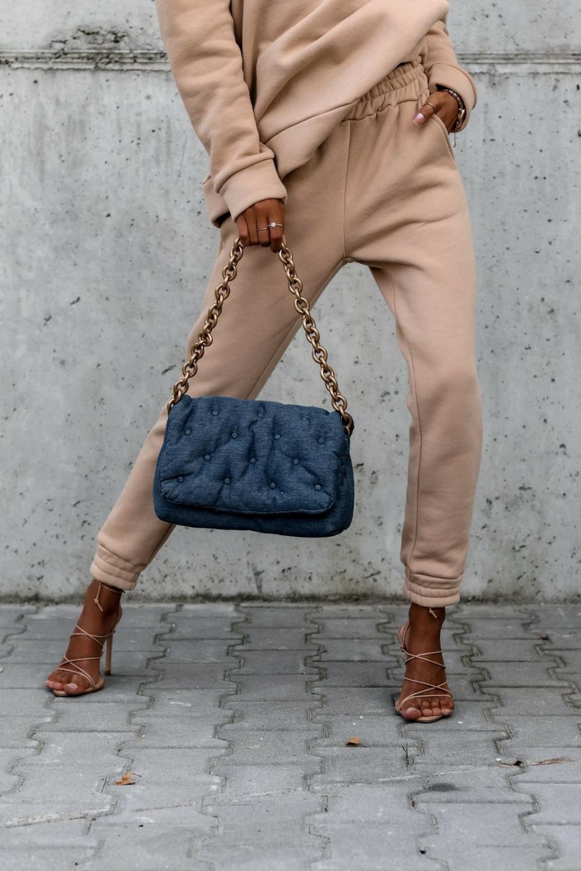 Beżowy komplet dresowy bluzka i spodnie Arianna 6