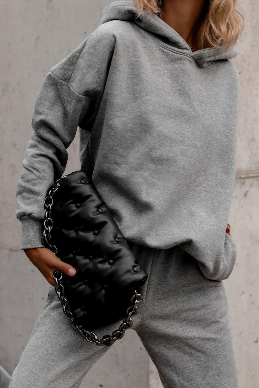 Szary komplet dresowy bluzka i spodnie Arianna 4