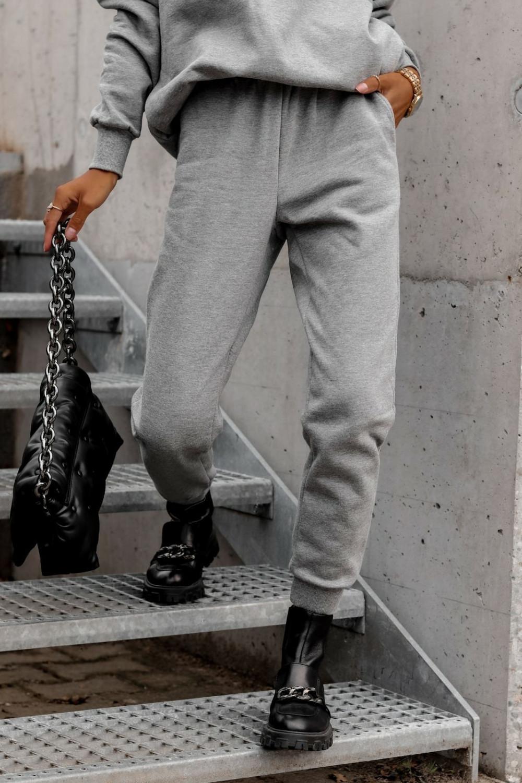 Szary komplet dresowy bluzka i spodnie Arianna 7