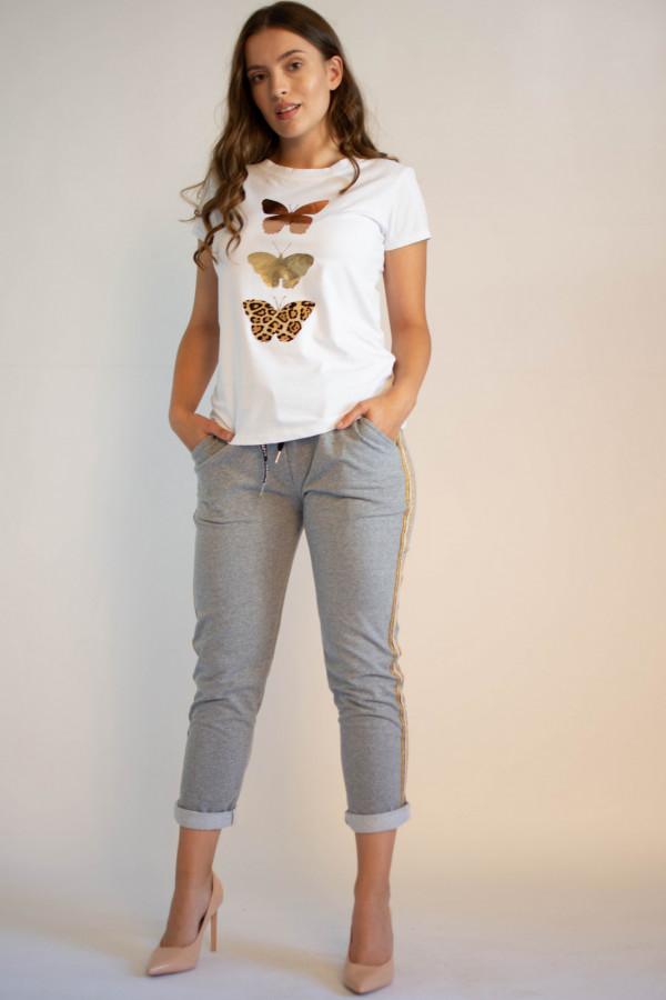 Koszulka z motywem motyli Mosqui