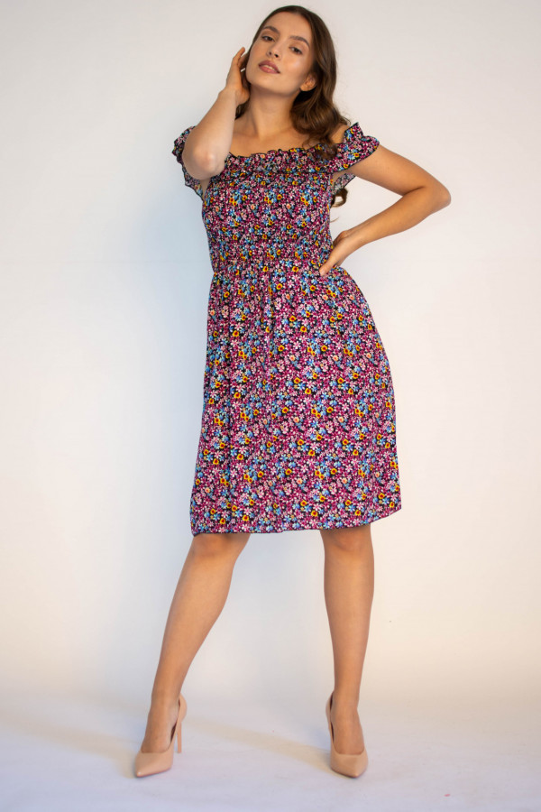 Kwiatowa sukienka hiszpanka Amelie