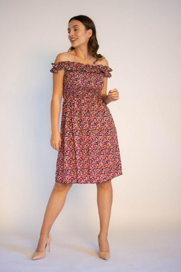 Kwiatowa sukienka hiszpanka Sandy