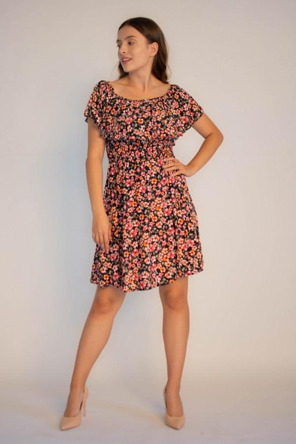 Sukienka damska hiszpanka w kwiaty Agnes