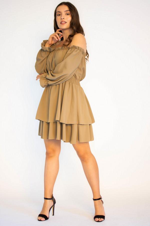 Sukienka hiszpanka z długim rękawem Cecylie