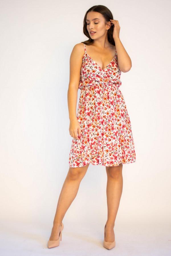 Sukienka kwiatowa na ramiączkach Danielle
