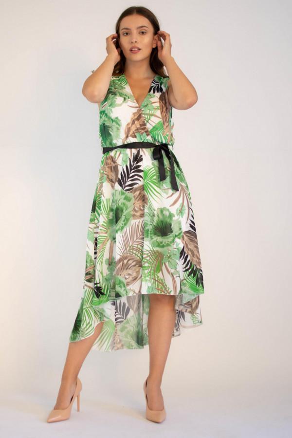 Sukienka przekładana kwiatowa Ivy