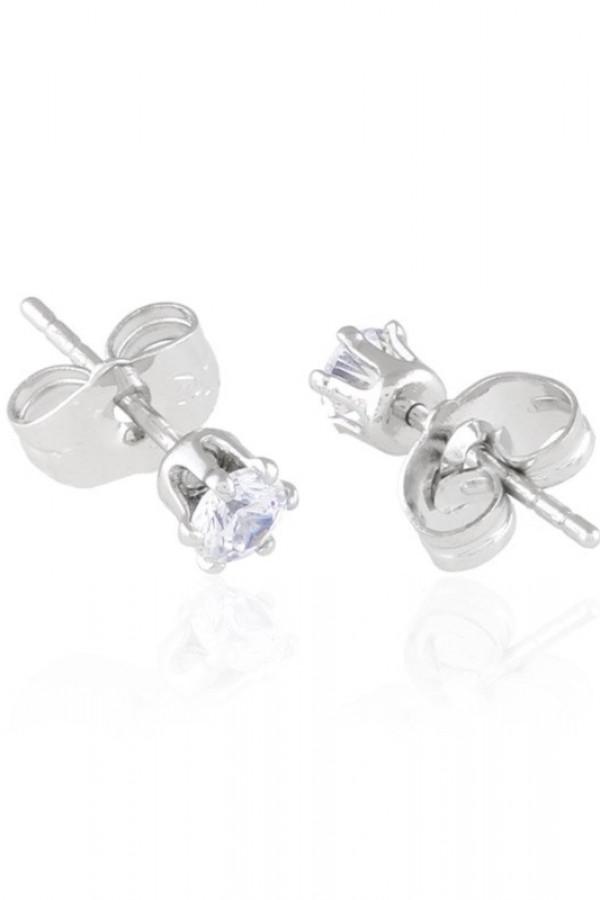 Kolczyki sztyfty z kryształkami Crystallis