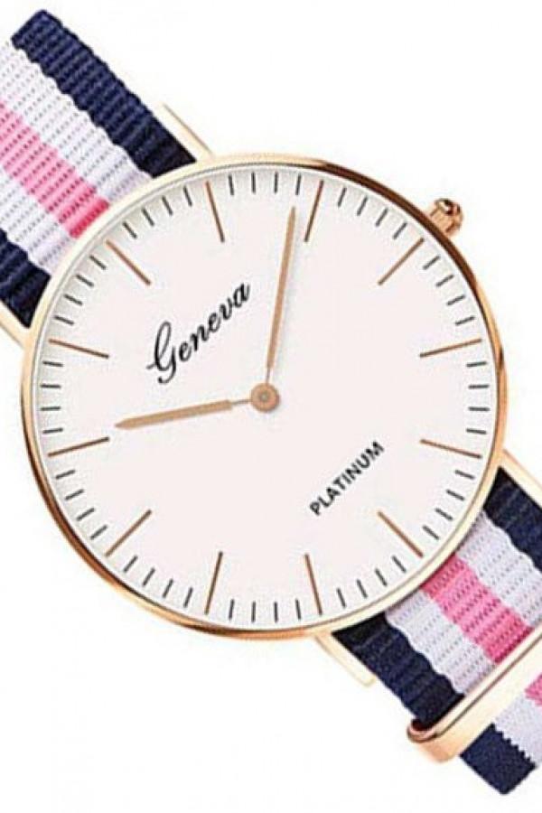 Zegarek damski klasyczny Stripes