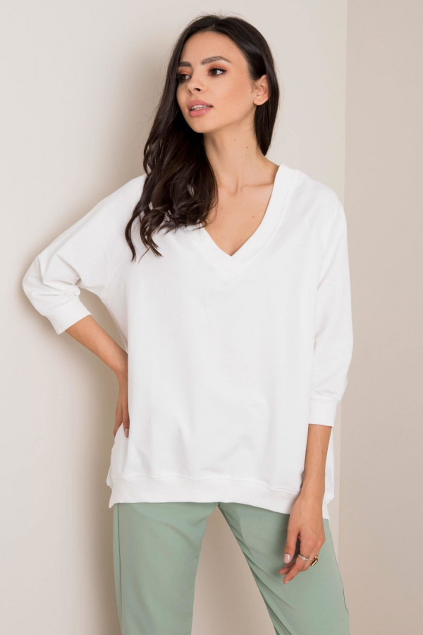 Biała bluza oversize Lorient
