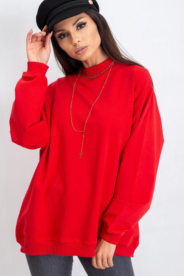 Czerwona bluza Vicenza