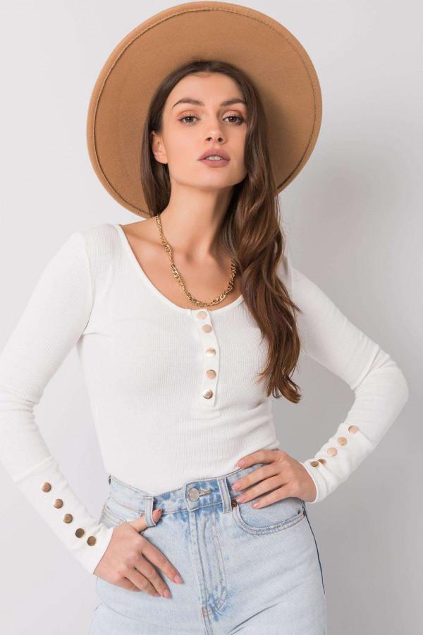 Biała bluzka z guzikami Alicante