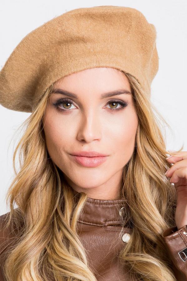 Brązowa czapka wełniana Creil