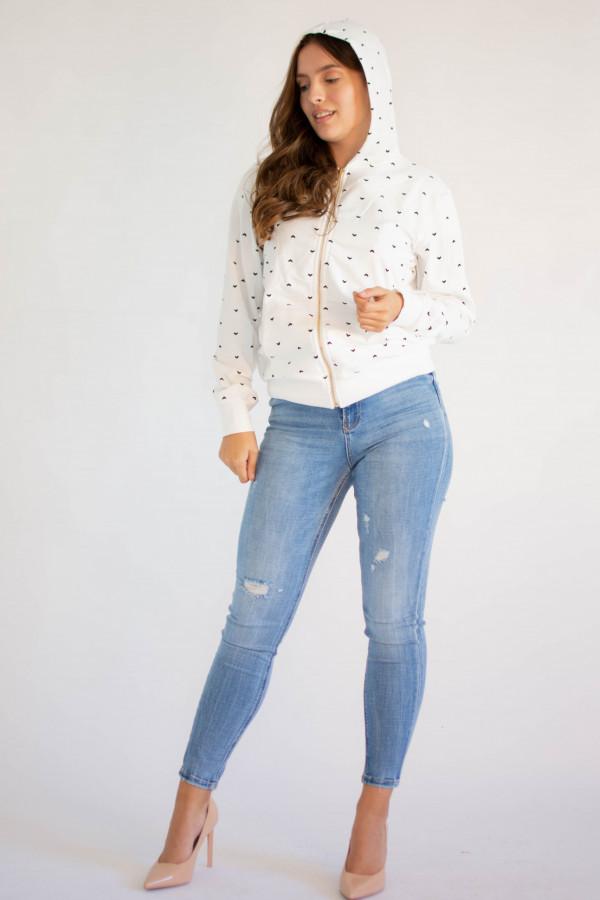 Rozpinana bluza z kapturem Lillie