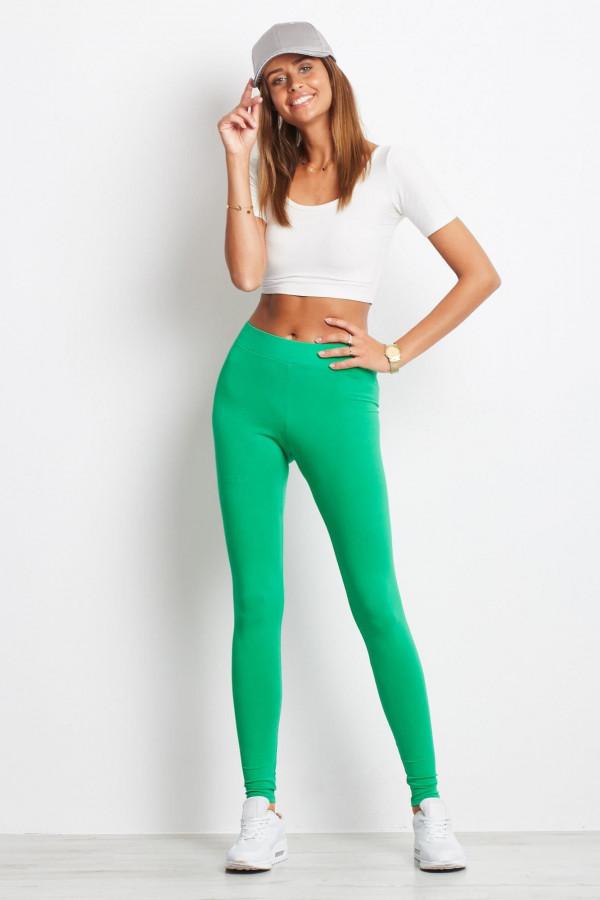 Zielone legginsy fitness Prime