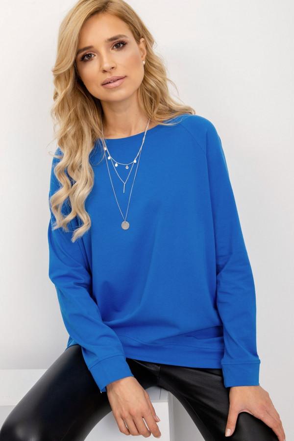 Niebieska klasyczna bluza Denma