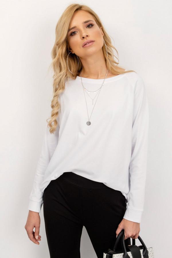 Biała klasyczna bluza Denma