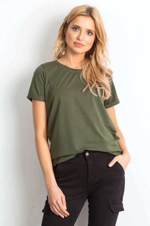 Khaki t-shirt O-Neck Kasom