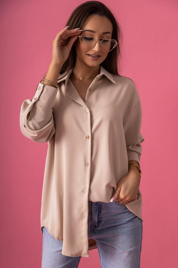 Beżowa koszula damska Serica